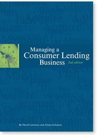 Book Front Cover - Managing A Consumer Lending Business